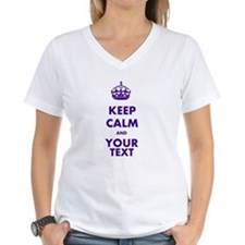 Personalized Keep Calm Shirt