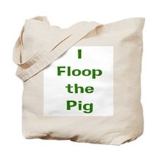 floop_green Tote Bag