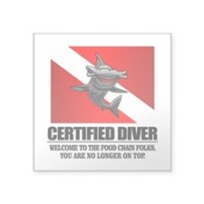 Certified Diver (Food Chain) Sticker