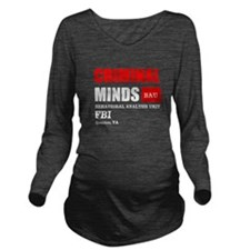 Criminal Minds Long Sleeve Maternity T-Shirt