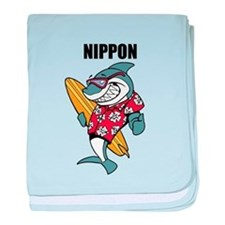 Nippon baby blanket