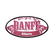 Banff Alberta Ski Resort 2 Patches