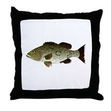 Gag Grouper Throw Pillow