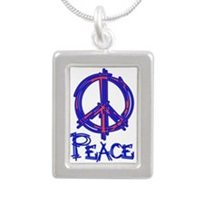 Give Peace a Chance Portrait Necklace