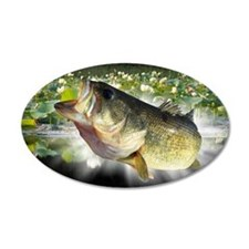 Bass lillies Wall Decal
