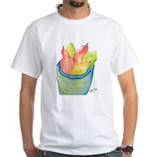 Pears in a Tyson Bowl Shirt