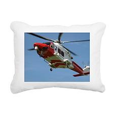 Dorset Coastguard Rectangular Canvas Pillow
