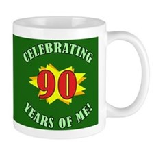 Celebrating 90th Birthday Mug