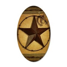 texas star horseshoe western Wall Sticker