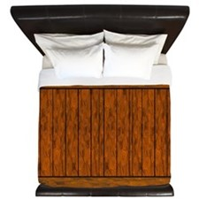 Wood Planks King Duvet