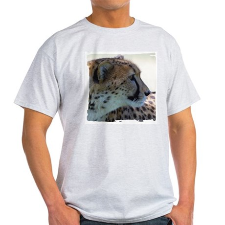 Cheeta Ash Grey T-Shirt