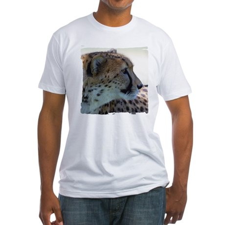 Cheeta Fitted T-Shirt
