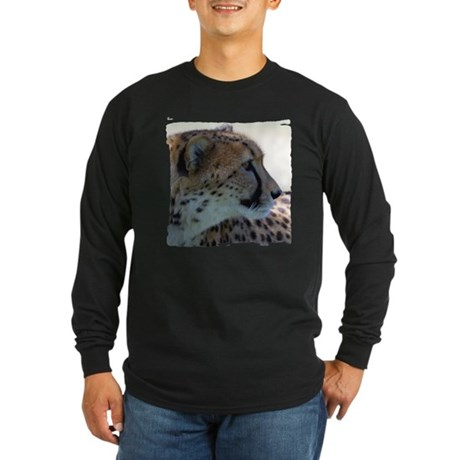 Cheeta Long Sleeve Dark T-Shirt