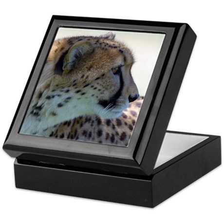 Cheeta Keepsake Box