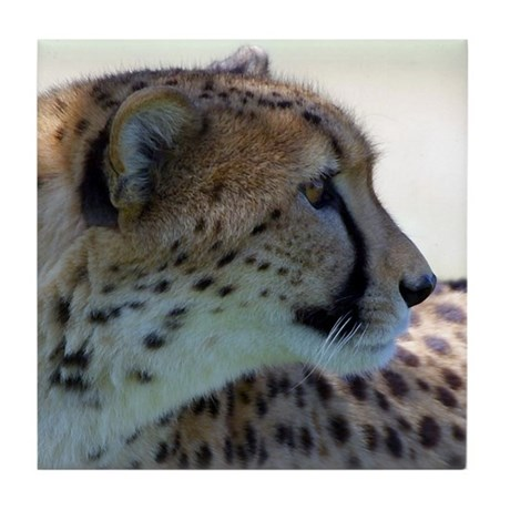 Cheeta Tile Coaster