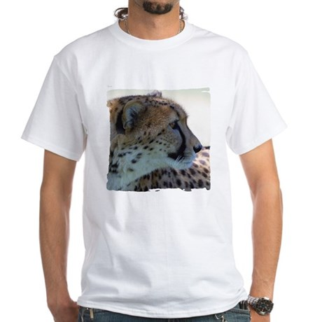 Cheeta White T-Shirt