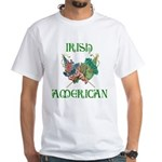 Irish American Unity White T-Shirt