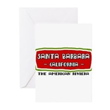 Santa Barbara Greeting Cards (Pk of 10)