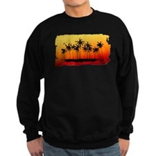Palm Shadows at Sunset Sweatshirt