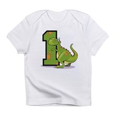 1st Birthday Dinosaur Infant T-Shirt
