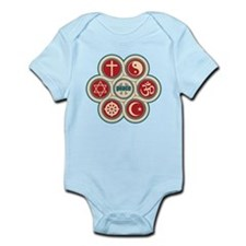 Religious Peace Infant Bodysuit