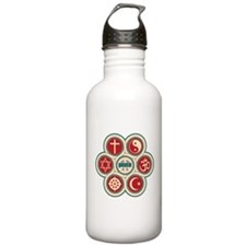 Religious Peace Water Bottle