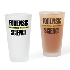 CSI Tape Drinking Glass