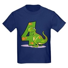 4th Birthday Dinosaur T