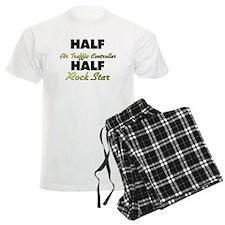 Half Air Traffic Controller Half Rock Star Pajamas