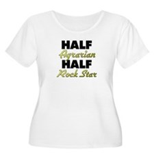 Half Agrarian Half Rock Star Plus Size T-Shirt