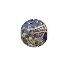 The Abandoned House Mini Button (100 pack)