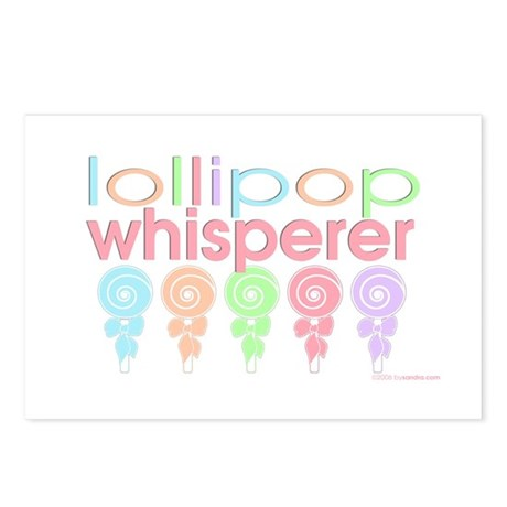 lollipop whisperer Postcards (Package of 8)