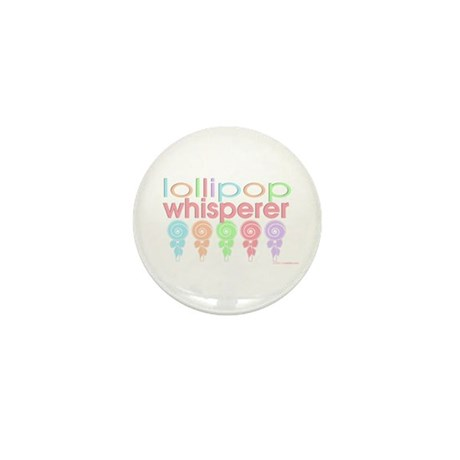 lollipop whisperer Mini Button (100 pack)