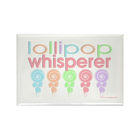 lollipop whisperer Rectangle Magnet