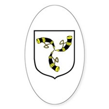 DUKLA Oval Decal