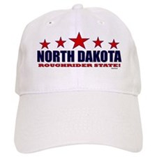 North Dakota Roughrider State Baseball Cap