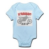 Funny Dirtbike Infant Bodysuit