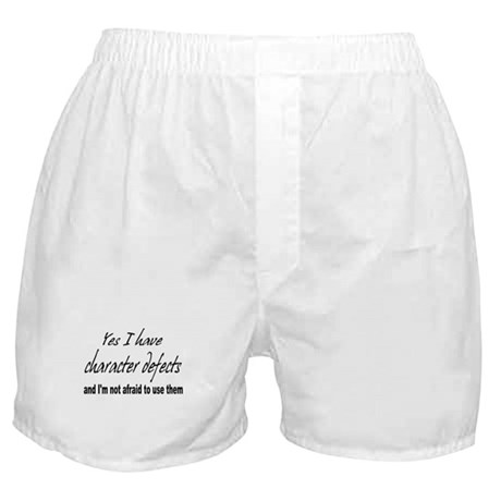 Character Defects Boxer Shorts