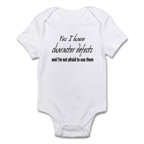Character Defects Infant Bodysuit