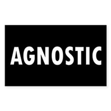 AGNOSTIC... Rectangle Decal