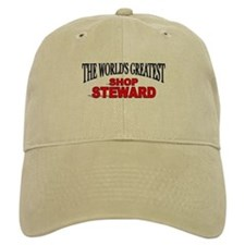 """The World's Greatest Shop Steward"" Baseball Cap"