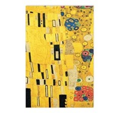 Klimt the Kiss Pattern De Postcards (Package of 8)