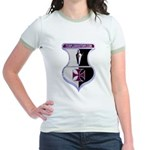 Templar Logo Shield Jr. Ringer T-Shirt
