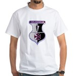 Templar Logo Shield White T-Shirt