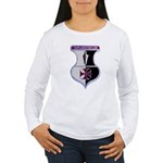 Templar Logo Shield Women's Long Sleeve T-Shirt