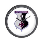 Templar Logo Shield Wall Clock