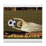 Cute Holy bible Tile Coaster
