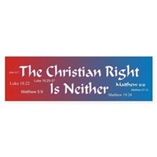 The Christian Right Is Neither Bumper Bumper Sticker