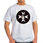 Knight Hospitaller Ash Grey T-Shirt