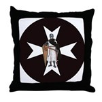 Knight Hospitaller Throw Pillow